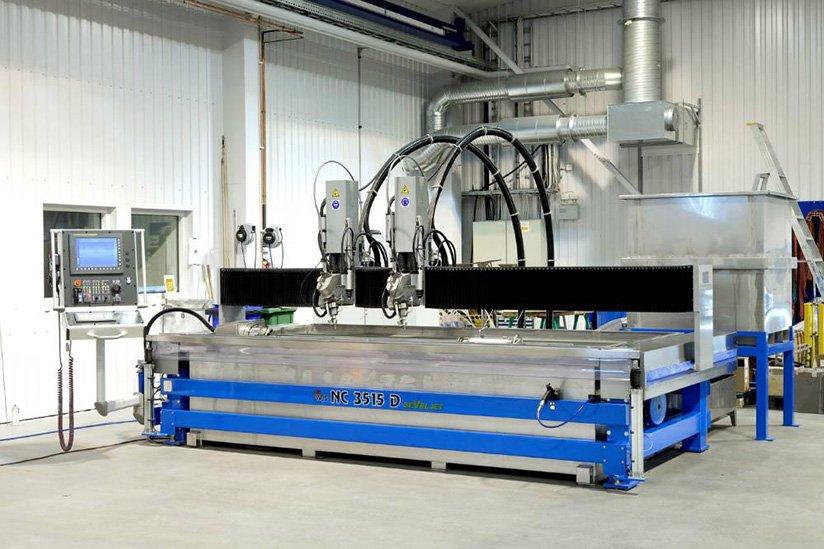 Wasserstrahlschneiden in Flensburg bei Lastertechnik Lübke